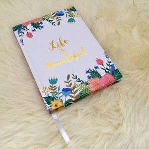 "3/$30 🌺 ""Life is Beautiful"" Floral Note…"
